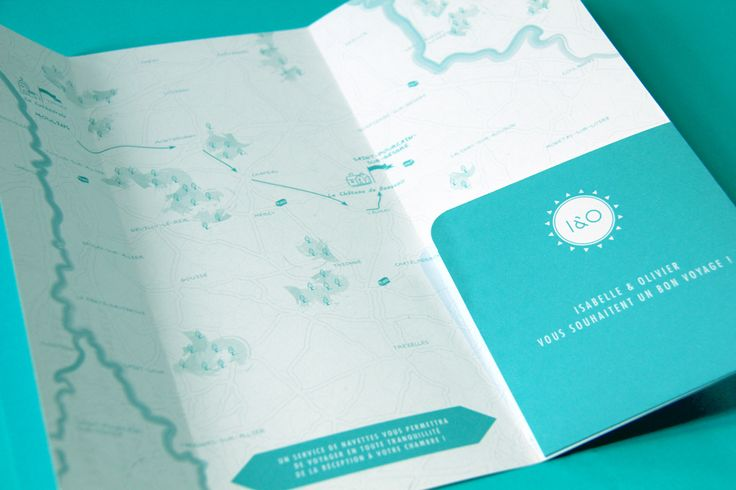 Wedding Invitation I&O - Ticket plane  by Allons-y Alonso - design d'invitations & fun !