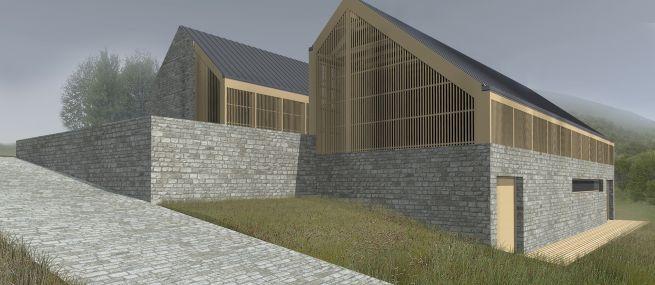 Alkotóház az erdő szélén – iparművészek otthona a Pilisben