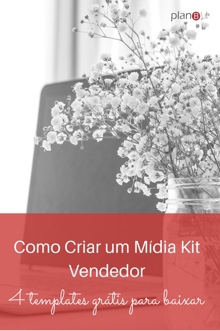 Como criar um mídia kit para seu blog com 4 templates para você baixar grátis e adaptar.