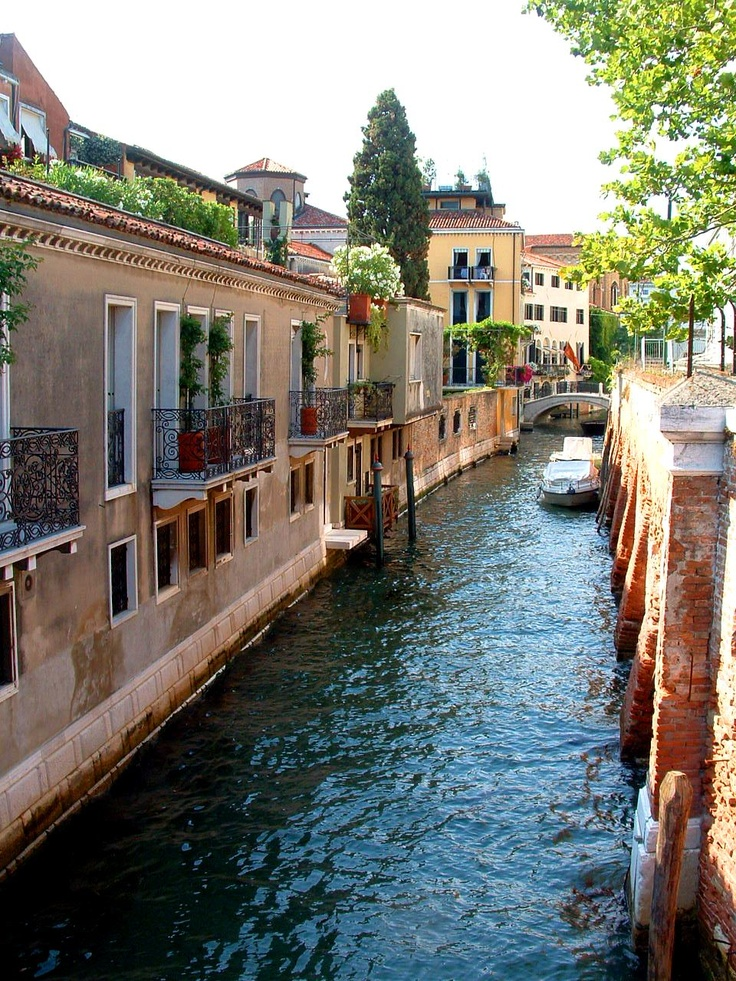 Beautiful houses in Venice