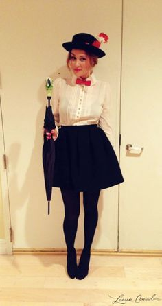 Mary Poppins Costume DIY- 15 Modest and Fun DIY Halloween Cost