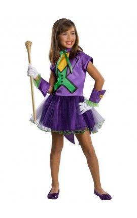 Disfraz de Joker tutú para niña