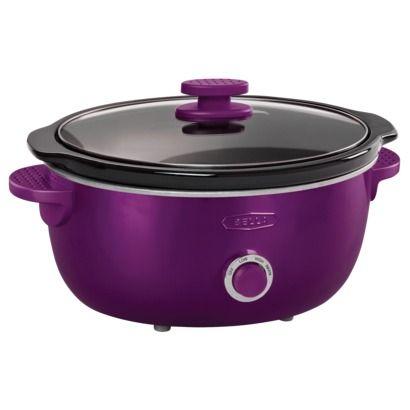 Bella Dots 6 Quart Slow Cooker - Purple. Suggested Retail Price: $39.99 #BellaDots #BellaLife