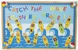 "surfing back to school wild about second grade sailing back to school look for ""our school of learners"" and What a great catch"