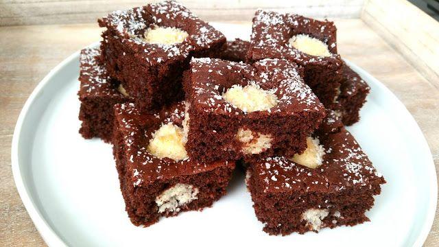 Ellouisa: Chocolade-kokoscake zoals die van AH!