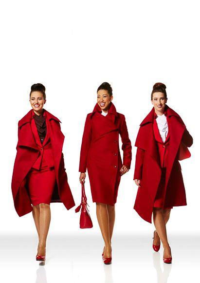 世界中のキャビンアテンダント☆ヴィヴィアン・ウェストウッドがデザインしたヴァージンアトランティック航空の制服