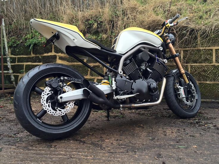 Yamaha BT1100 Bulldog Street Racer By Made In Metal Motorcycles Custommotorcycles Motoscustom