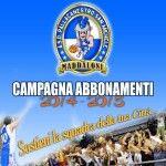 Campagna abbonamenti 2014/2015 della Pallacanestro San Michele Maddaloni, partite da 100 a 3 euro