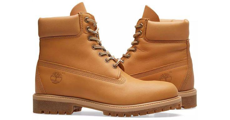 "Timberland's Classic 6"" Boot Gets a Natural Horween Latigo Facelift - http://hddls.co/2lUnzMB"