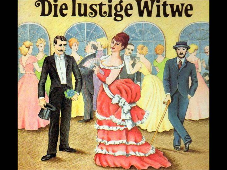 """Franz Lehár """"Die lustige Witwe"""" Querschnitt 1963"""