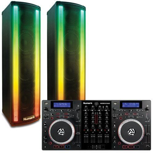 Numark Mixdeck Quad and Lightwave DJ Bundle - http://djsoftwarereview.com/most-popular-dj-mixers/numark-mixdeck-quad-and-lightwave-dj-bundle/ #DJMixer, #DJequipment, #PioneerDJ, #Music Mixer, #DJApp, #DJSoftware, #DJTurntables, #DJLighting