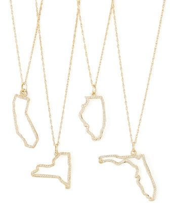 Maya Brenner - Pave Diamond State Necklace http://rstyle.me/~1oeW9