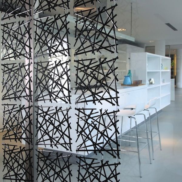 These modular partitions from German brand Koziol are a new obsession of mine. Semi-transparent and light, they create beautiful and subtle dividers in a room of any size. The installation of the p...