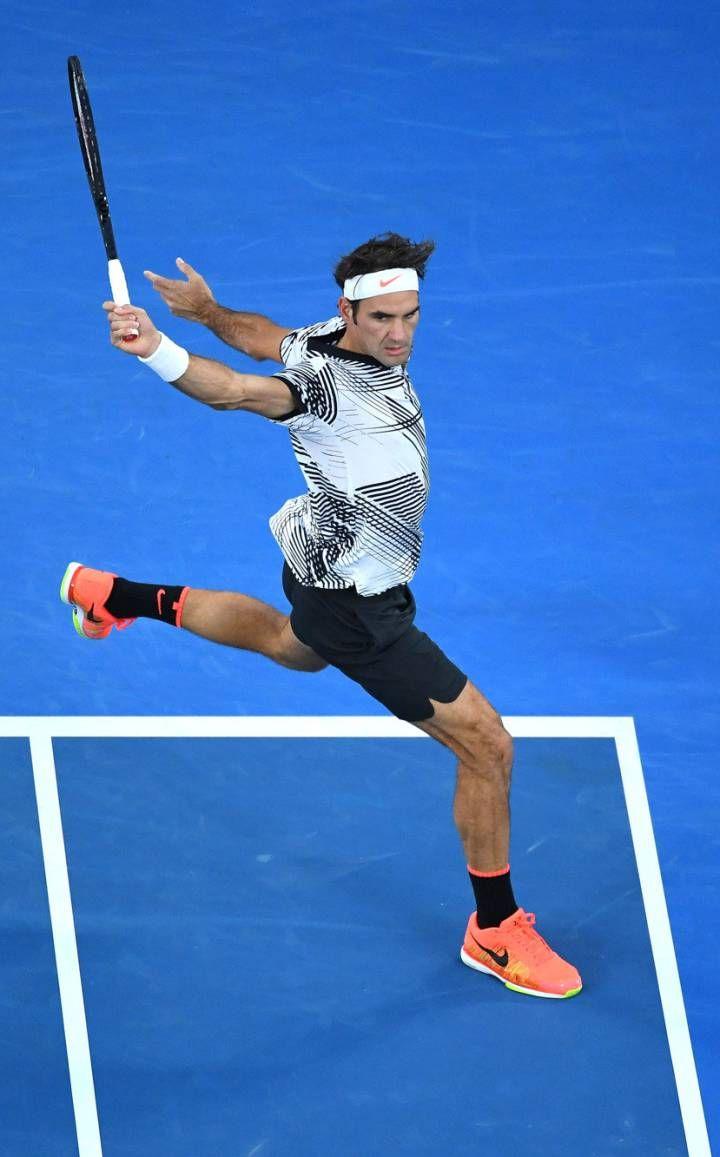 Federer, en la final ante Nadal