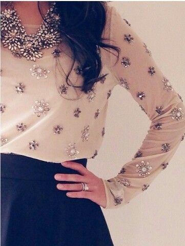 Sparkly blouse  @verosuh