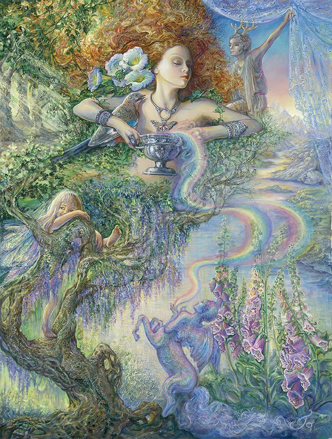 Enchantment by Josephine Wall