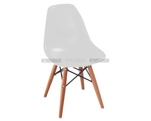 Kids DSW Style Chair White
