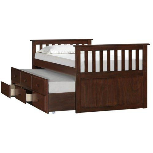 Found it at Wayfair - Simmons Casegoods Charthouse Twin Captain Bed with Storage