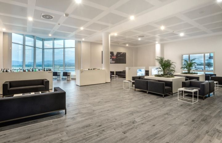 Olbia Airport Club Lounge by POINT.ARCHITECTS, Turin – Italy » Retail Design Blog