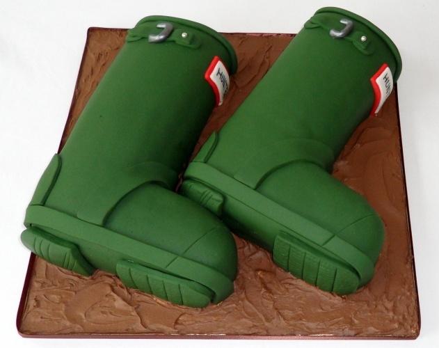Boots Birthday Cake