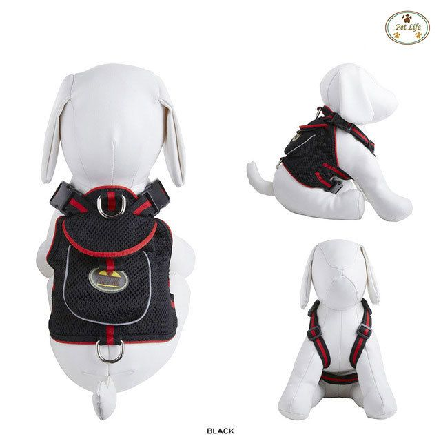 I found this incredible Pet Life Mesh Back-Clip Dog Harness with Storage Pouch - Assorted Colors on choxi.com for 48% off. Sign up now and receive $10 off your first purchase. Amazing deals at unbelievable prices...Love it!