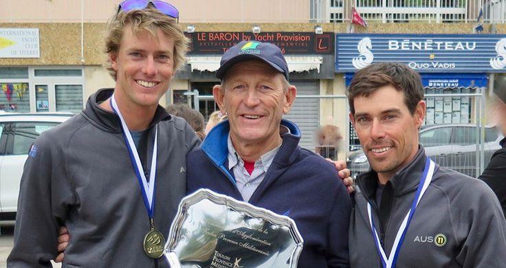 Australia Sailing Team's first international steps towards Tokyo 2020