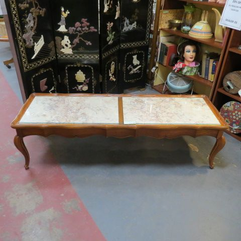 SALE! Vintage antique French style marble top coffee table - $175 - 317 Best Antique Furniture Images On Pinterest Vanities, Antique