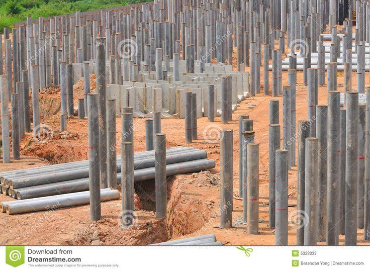 140 best medeniyet m hendisli i images on pinterest for Wood piling foundation cost