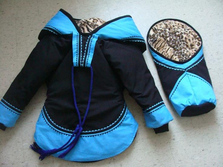 Amautiq w/ matching bunting bag by Denise Autut