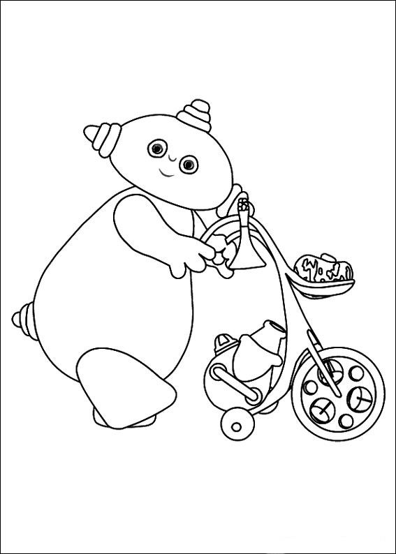 pontipines coloring pages - photo#23