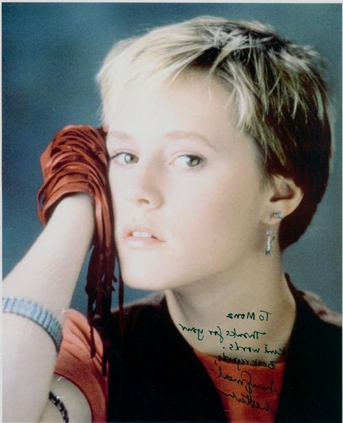 Mary Stuart Masterson completely reduced me.  Probably started my fascination with female drummers.