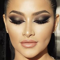 Have you caught up on my Arabian Smokey Eye tutorial yet? Link in bio • Not a member? Join the world's #1 MOST subscribed-to LIVE online makeup school and step up your game for only $19/mo! That's less than the price of a single makeup brush See you online #glammasters! #dressyourfacelive .com