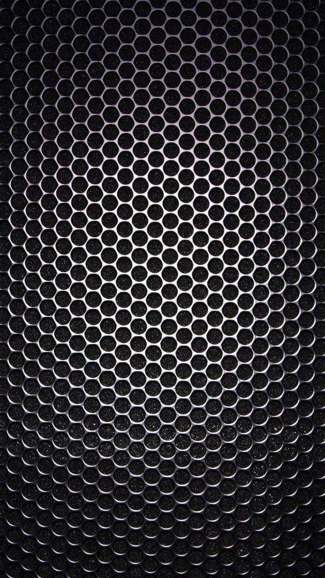 Iphone X Template Wallpaper Speaker Grill Closeup Texture Iphone 5 Wallpaper In 2019
