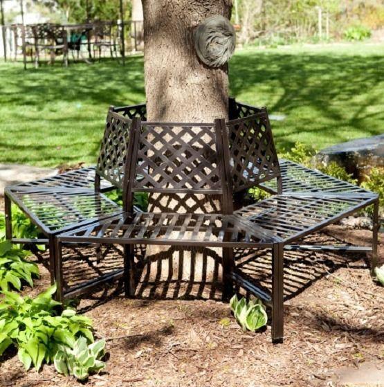 Garden Furniture Park Bench Wrought Iron Antique French
