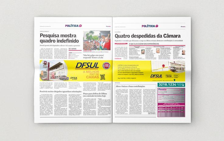 Cliente: DFSUL concessionária Caxias do Sul  Material: Jornal Pioneiro Agência: BAG propaganda