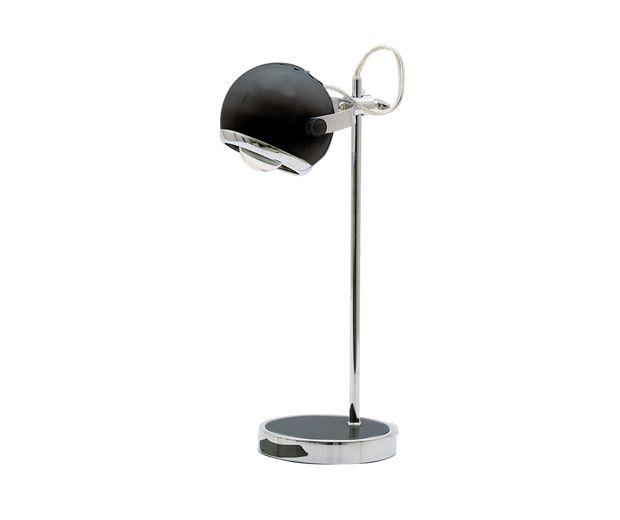 Lampka na biurko Mini retro czarny kolor Leitmotiv