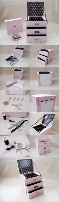DIY Glossybox jewellery box (@Glossybox Brasil Brasil Brasil UK) | Step by step tutorial at www.floralandfreckled.co.uk: