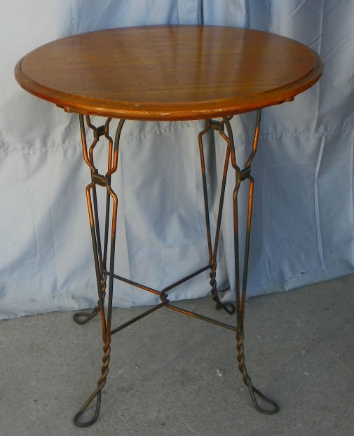 AH Andrews Soda Fountain Table that would match my three chairs