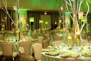 The Fairmont Hotels and Resorts' Grand Chefs gala and Jean Banchet Awards for Culinary Excellence in Chicago had an Emerald City theme in 2011. Students from the Harrington College of Design handled decor, and reps from Pagliuco Design Company developed the theme.