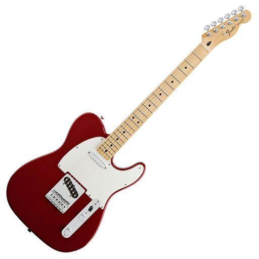 Fender Standard Telecaster®, Maple Fingerboard, Candy Apple Red, No Bag