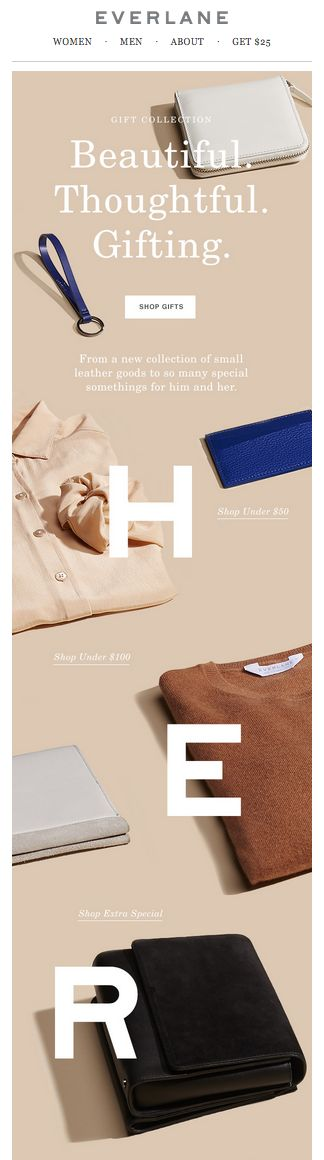 everlane. | newsletter | fashion email | fashion design | email | email marketing | email inspiration | e-mail