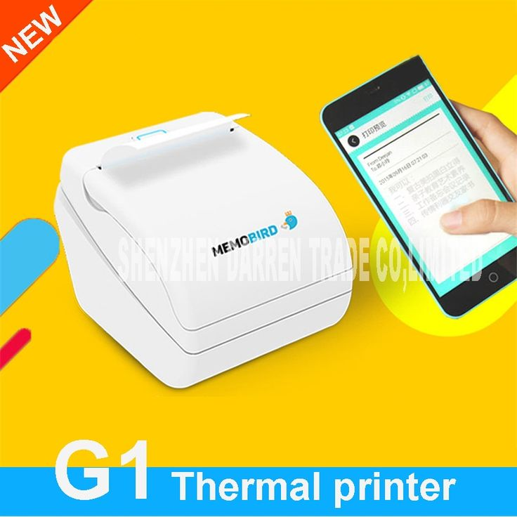 (42.25$)  Watch now  - New Mini Mobile app printing small ticket printer G1 wireless network printing mobile phone photo bill printing thermal printer