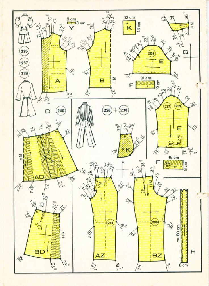 Vintage Sewing Patterns 139 winter 1975  Patternmaking