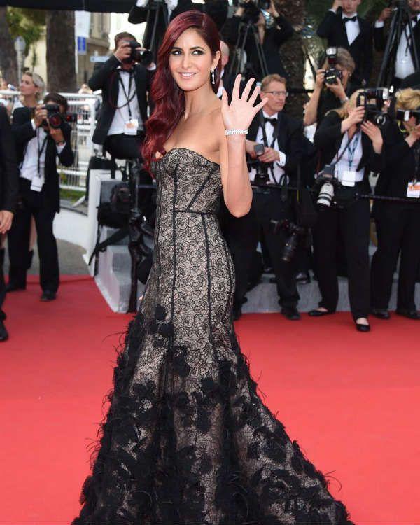 Katrina Kaif Celebrity Hairstyles 2015 Cannes