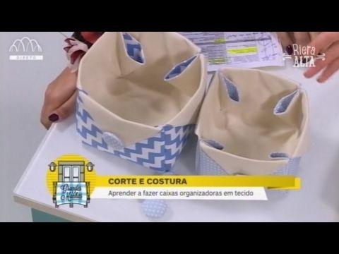 Cestos de Arrumação - Costura com Riera Alta - YouTube
