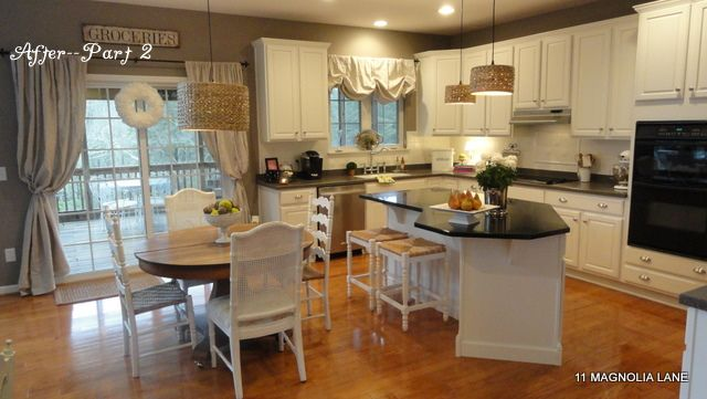 diy show off drop cloth curtains cabinets and cloths