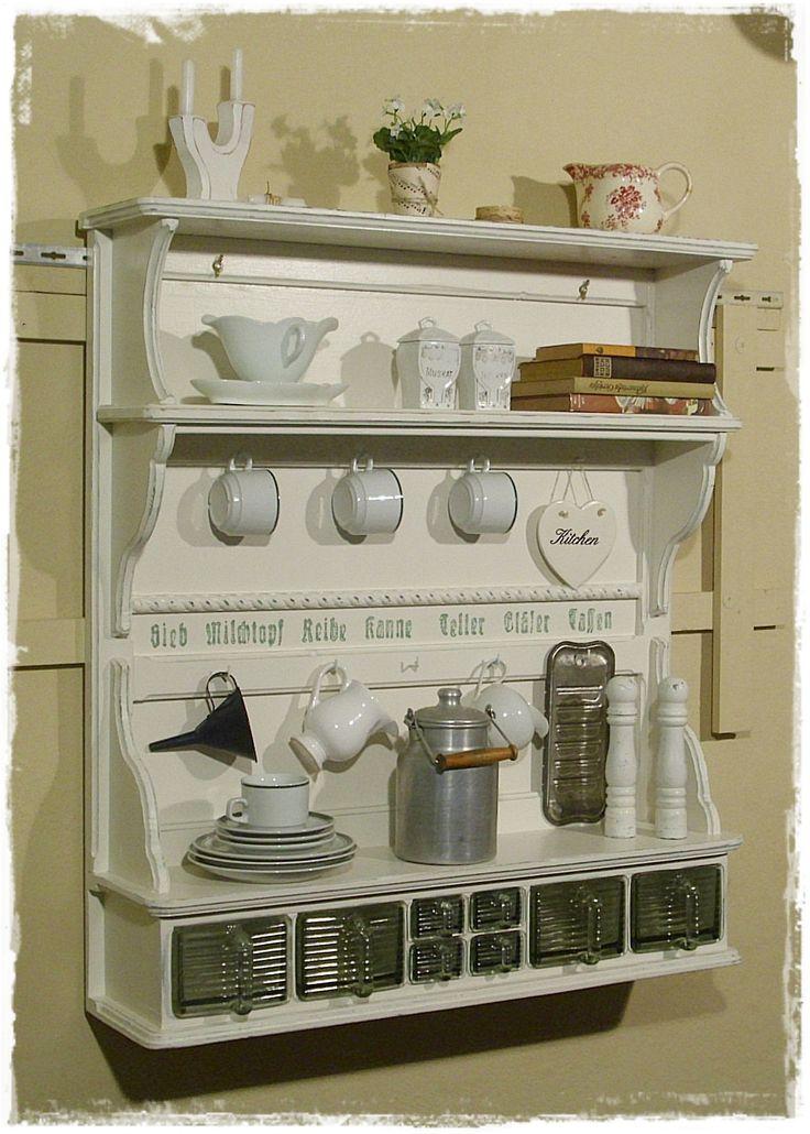 ber ideen zu k chenregal dekor auf pinterest primitives k chendekor schlichte k chen. Black Bedroom Furniture Sets. Home Design Ideas