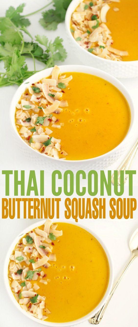 ... coconut and lemongrass. This Thai Coconut Butternut Squash Soup then