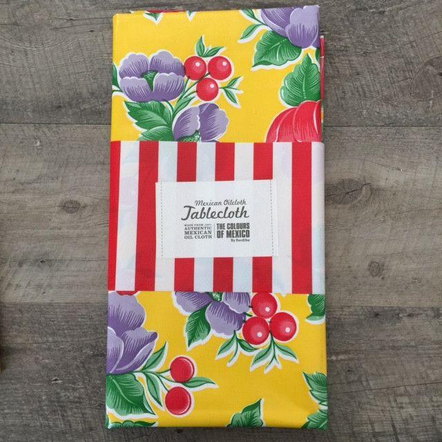 BenElke - Tablecloth Yellow Poppy