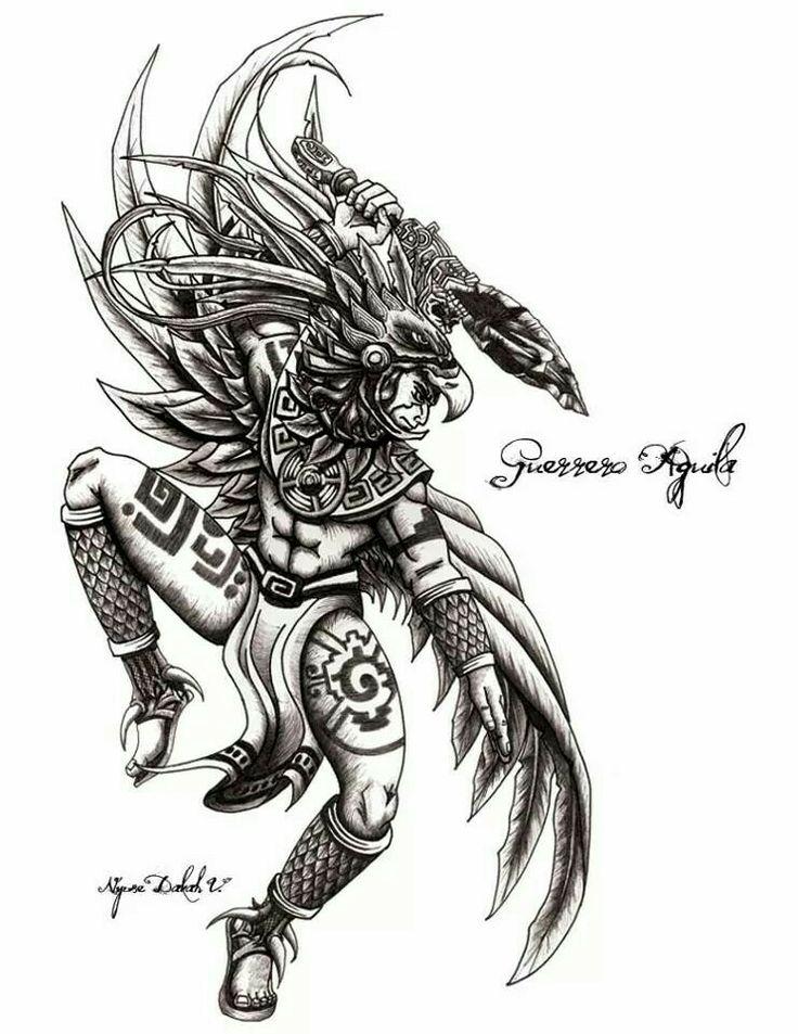 Guerrero águila.